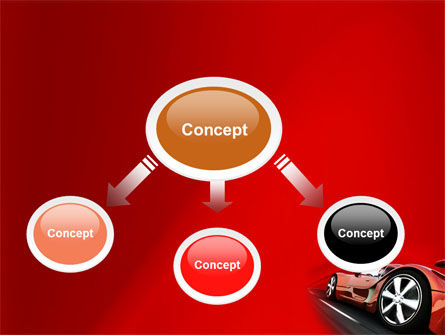 Red Supercar PowerPoint Template Slide 4
