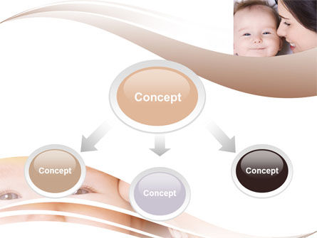Baby Smile PowerPoint Template, Slide 4, 06456, People — PoweredTemplate.com