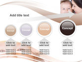 Baby Smile PowerPoint Template#13