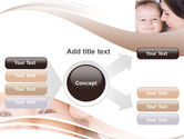 Baby Smile PowerPoint Template#14