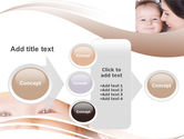 Baby Smile PowerPoint Template#17