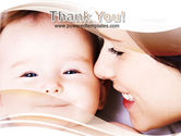 Baby Smile PowerPoint Template#20