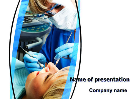 Dental Surgery PowerPoint Template, 06457, Medical — PoweredTemplate.com