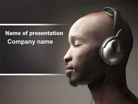Easy Listening PowerPoint Template
