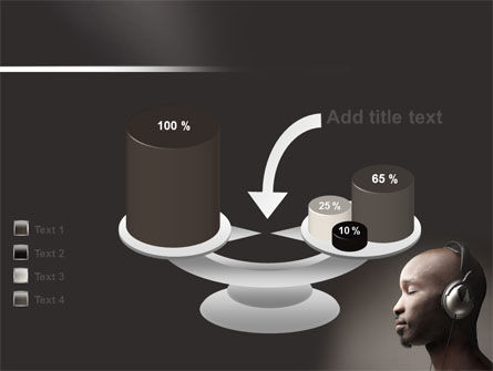 Easy Listening PowerPoint Template Slide 10