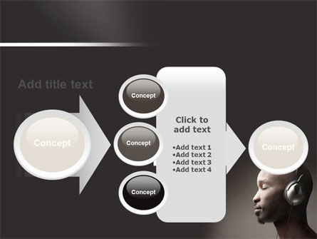 Easy Listening PowerPoint Template Slide 17