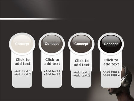Easy Listening PowerPoint Template Slide 5