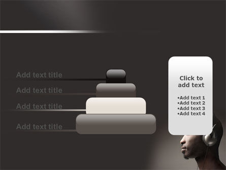 Easy Listening PowerPoint Template Slide 8