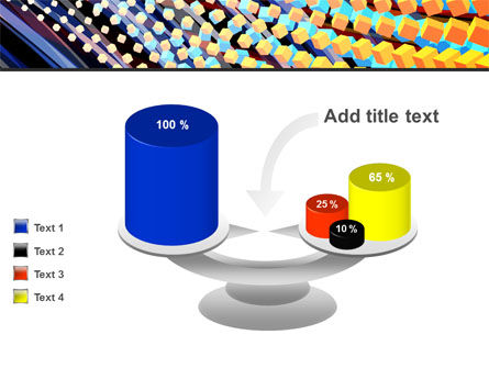 Abstract Defragmentation PowerPoint Template Slide 10