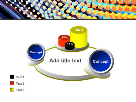 Abstract Defragmentation PowerPoint Template Slide 16