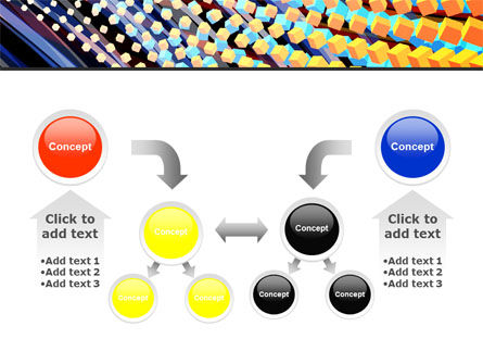 Abstract Defragmentation PowerPoint Template Slide 19