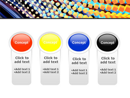 Abstract Defragmentation PowerPoint Template Slide 5