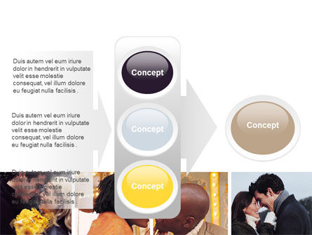 Kissing PowerPoint Template Slide 11