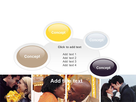 Kissing PowerPoint Template Slide 16