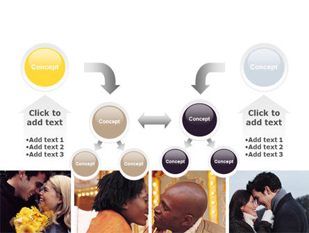 Kissing PowerPoint Template Slide 19