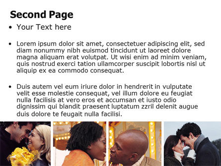 Kissing PowerPoint Template Slide 2