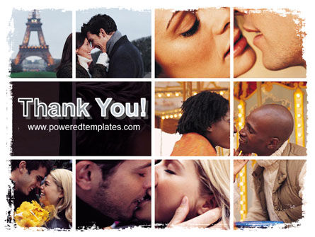 Kissing PowerPoint Template Slide 20