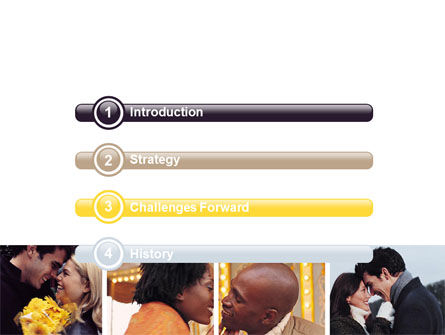 Kissing PowerPoint Template Slide 3
