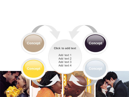 Kissing PowerPoint Template Slide 6
