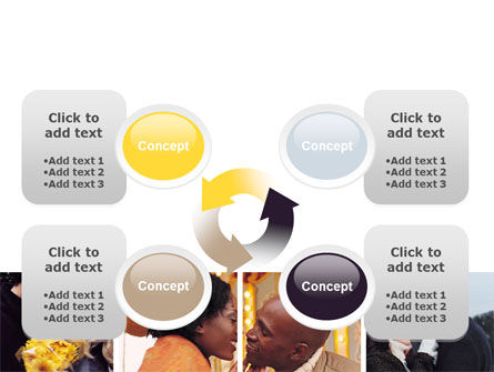 Kissing PowerPoint Template Slide 9