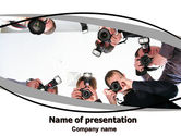 Careers/Industry: Photographers PowerPoint Template #06466