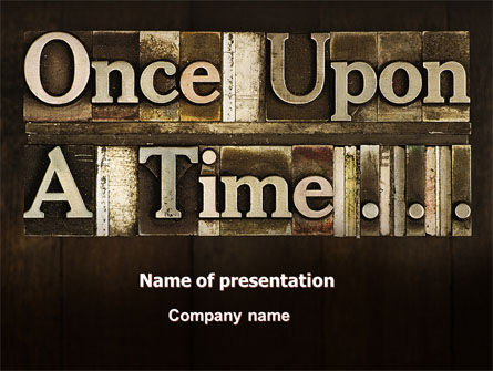 Fairy Story PowerPoint Template, 06468, Education & Training — PoweredTemplate.com