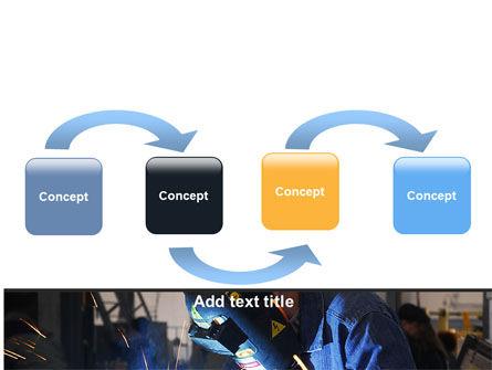 Arc Welding PowerPoint Template, Slide 4, 06470, Utilities/Industrial — PoweredTemplate.com