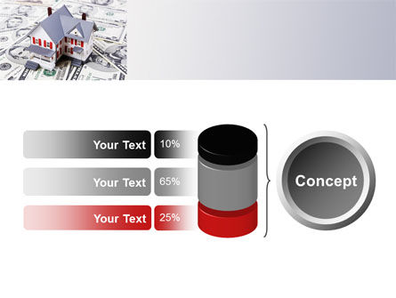 Credit On Mortgage PowerPoint Template Slide 11