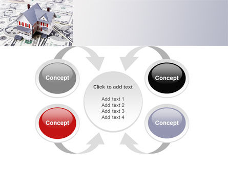 Credit On Mortgage PowerPoint Template Slide 6