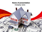 Financial/Accounting: Credit On Mortgage PowerPoint Template #06473