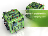 Technology and Science: Hardware PowerPoint Template #06474