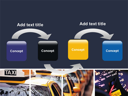 City Traffic PowerPoint Template, Slide 4, 06476, Cars and Transportation — PoweredTemplate.com