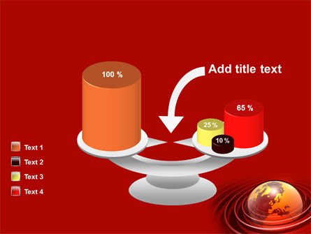 Red Globe PowerPoint Template Slide 10