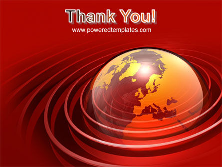Red Globe PowerPoint Template Slide 20