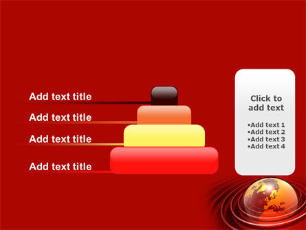 Red Globe PowerPoint Template Slide 8
