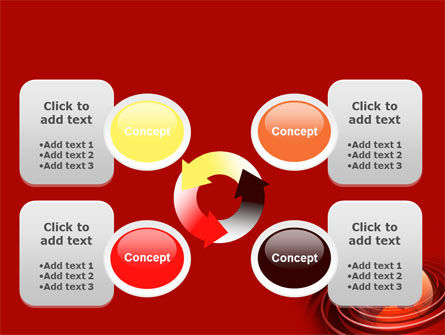 Red Globe PowerPoint Template Slide 9