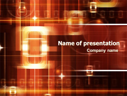 Abstract/Textures: Zero PowerPoint Template #06480