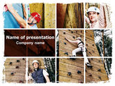 Sports: Bouldering PowerPoint Template #06481