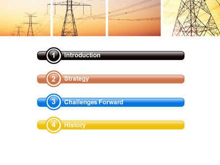 Transmission Lines PowerPoint Template, Slide 3, 06482, Utilities/Industrial — PoweredTemplate.com