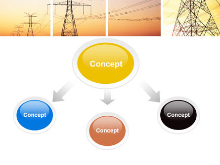 Transmission Lines PowerPoint Template, Slide 4, 06482, Utilities/Industrial — PoweredTemplate.com