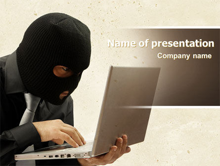 Legal: Hacking PowerPoint Template #06485