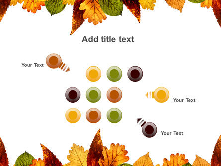 Autumn Leaves in Light Brown Palette PowerPoint Template Slide 10