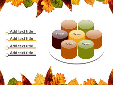 Autumn Leaves in Light Brown Palette PowerPoint Template Slide 12