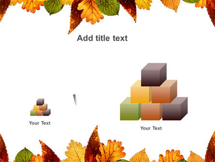 Autumn Leaves in Light Brown Palette PowerPoint Template Slide 13