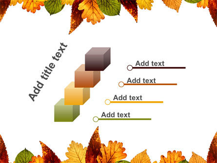 Autumn Leaves in Light Brown Palette PowerPoint Template Slide 14