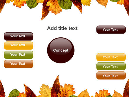 Autumn Leaves in Light Brown Palette PowerPoint Template Slide 15