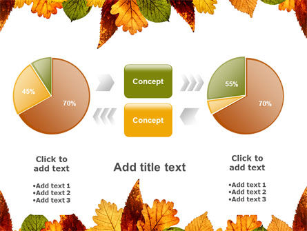 Autumn Leaves in Light Brown Palette PowerPoint Template Slide 16
