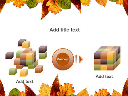 Autumn Leaves in Light Brown Palette PowerPoint Template Slide 17