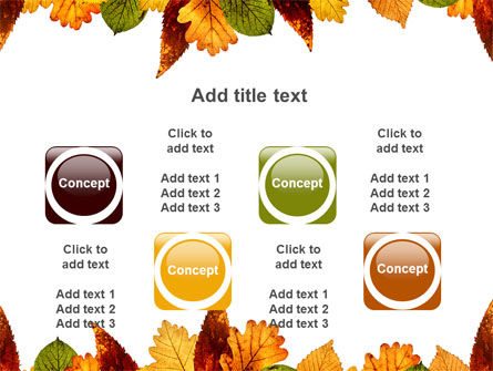 Autumn Leaves in Light Brown Palette PowerPoint Template Slide 18