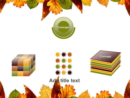 Autumn Leaves in Light Brown Palette PowerPoint Template Slide 19
